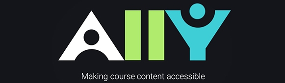 Ally: Making course content accessible